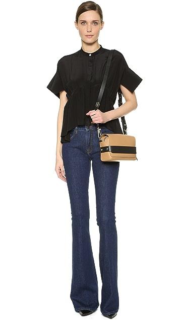 3.1 Phillip Lim Bianca Small Flap Cross Body Bag