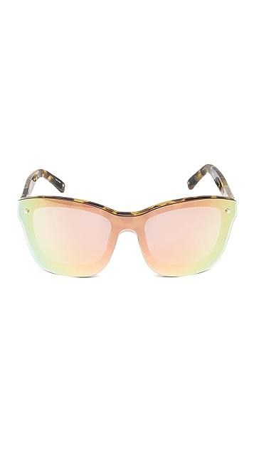 3.1 Phillip Lim Mirrored Lens Sunglasses