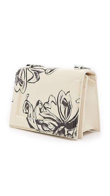 3.1 Phillip Lim Floral Print Soleil Mini Chain Shoulder Bag