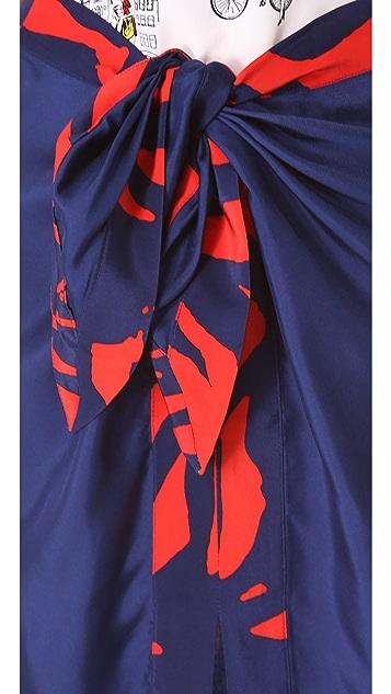 Piamita Beatrice Tie Waist Skirt