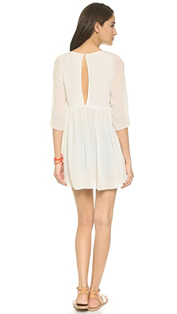 Pia Pauro Palermo Silk Beach Dress