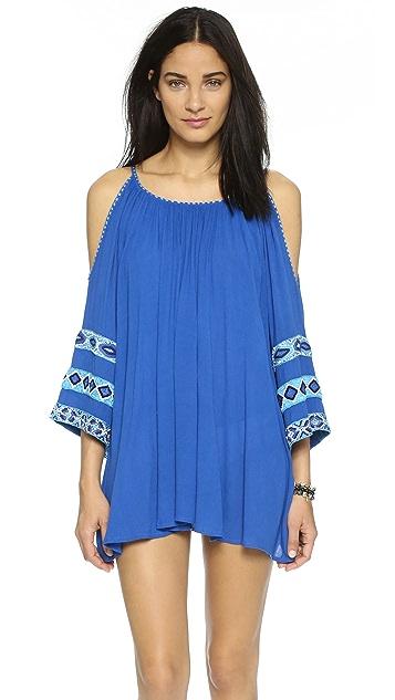 Pia Pauro Cold Shoulder Island Dress