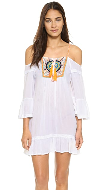 Pia Pauro Burst Beach Dress