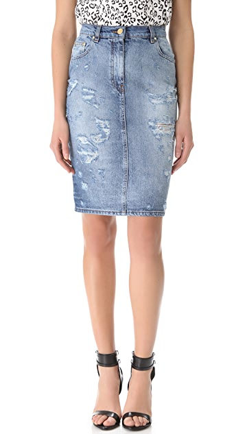 Pierre Balmain High Waist Pencil Skirt