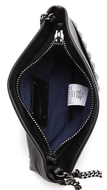 Pierre Balmain Studded Row Bag