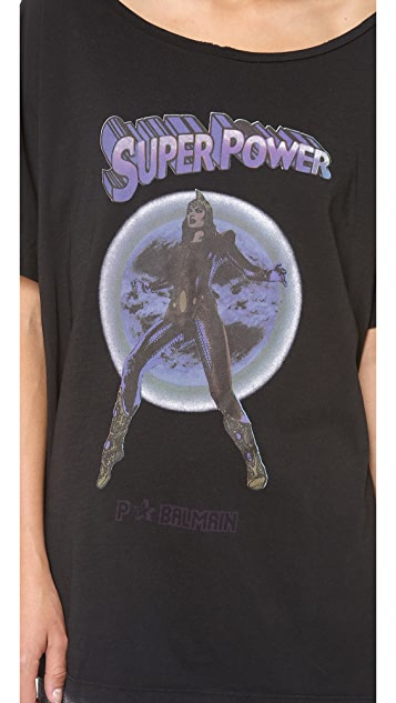 Pierre Balmain Boxy Super Power Tee