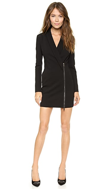 Pierre Balmain Zip Up Blazer Dress
