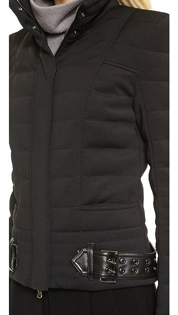 Pierre Balmain Belted Puffer Jacket