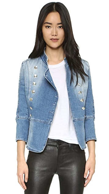 7d9071bfa72 Pierre Balmain Double Breasted Denim Jacket | SHOPBOP