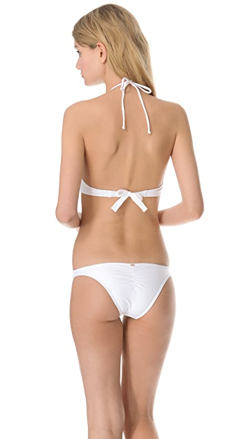 PilyQ Coconut White Cutout One Piece