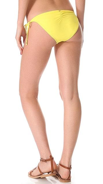PilyQ Dandelion String Bikini Bottoms