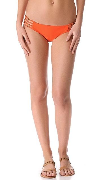 PilyQ Mango Tango Bikini Bottoms