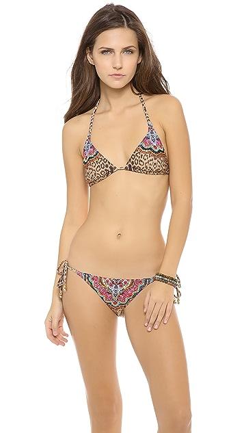 PilyQ Raj Triangle Bikini Top