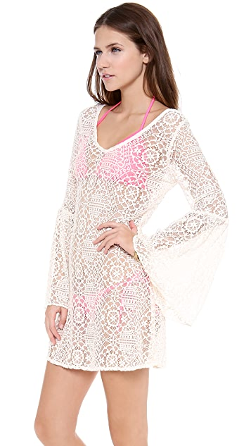 PilyQ Bahama White Cover Up