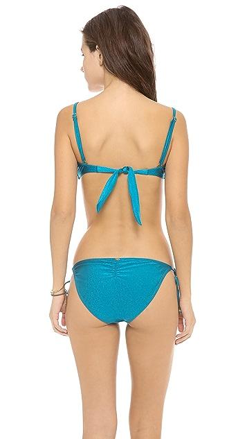 PilyQ Tourmaline Bikini Top