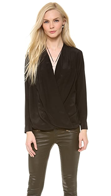 Piper Gore Two Timing Cross Front Blouse