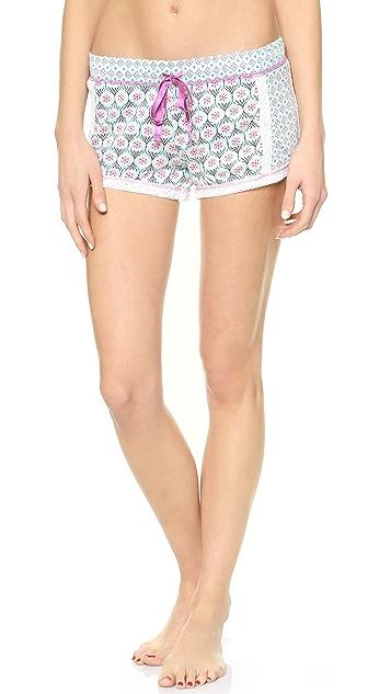 PJ Salvage Summer Tile PJ Shorts