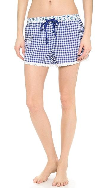 PJ Salvage Aquamarine PJ Shorts