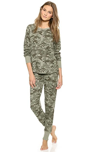 PJ Salvage PJ Salvage Army Top