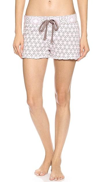 PJ Salvage PJ Salvage Print Princess Shorts