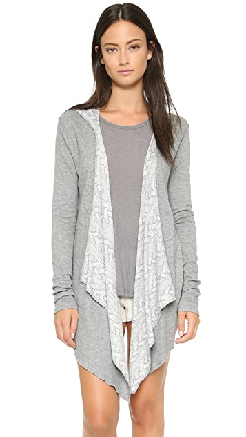 PJ Salvage PJ Salvage Cozy In Cable Robe