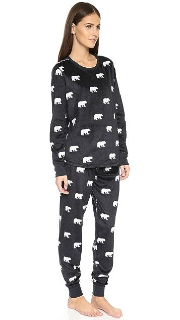 PJ Salvage PJ Salvage Polar Bear PJ Set