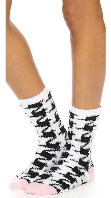 PJ Salvage Houndstooth Socks