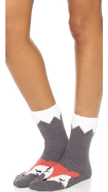 PJ Salvage Fox Socks