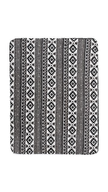 PJ Salvage Patterned Blanket