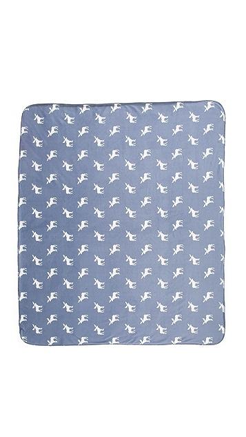 PJ Salvage Moose Blanket