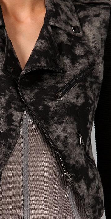 Plastic Island Rogue Knit Bomber Jacket