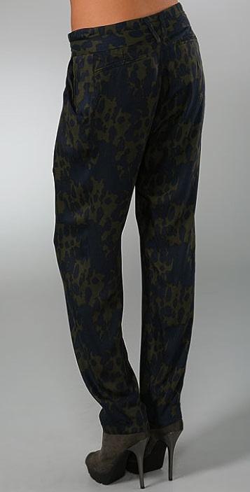 Plastic Island Dark Romance Belted Trousers