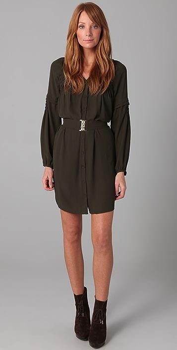 Plastic Island Harlow Belted Dress