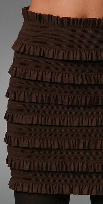 Pleasure doing business Coquette Band Miniskirt