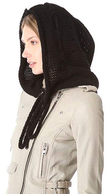 Plush Knit Hood