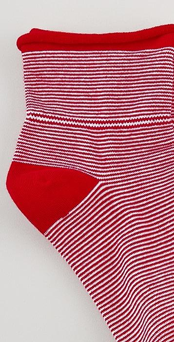 Plush 3 Pack Rolled Socks