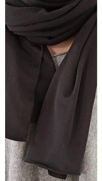 Plush Oversized Fleece Lined Scarf