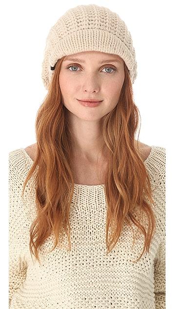 Plush Fleece Lined Brim Hat