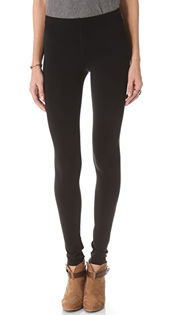 Plush Stitched Fleece Lined Leggings