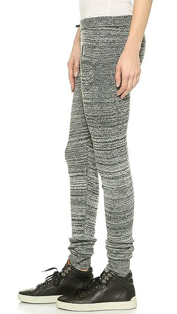 Plush Marled Sweater Leggings
