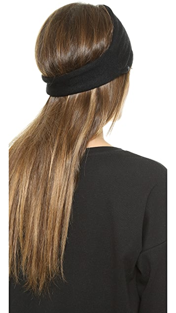 Plush Fleece Lined Knit Headband