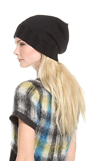 Plush Slouchy Fleece Lined Beanie