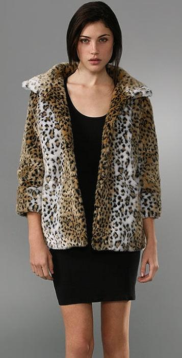 Pencey High Collar Coat