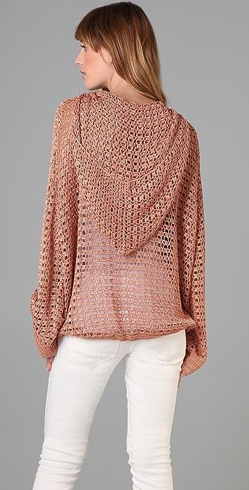 Pencey Crocheted Hoodie
