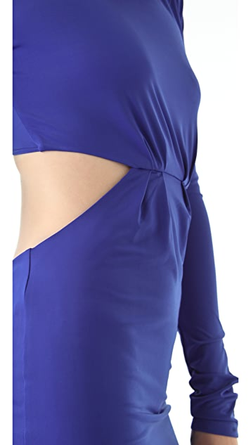 Pencey Open Back Dress