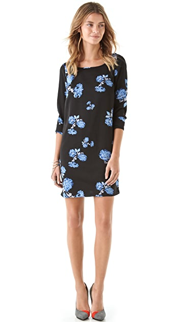 Pencey Open Back Floral Dress