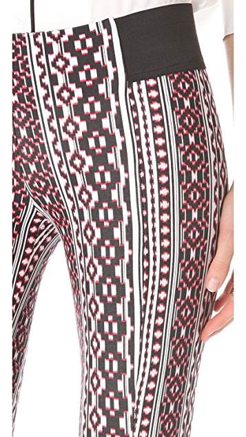 Pencey Slim Printed Pants