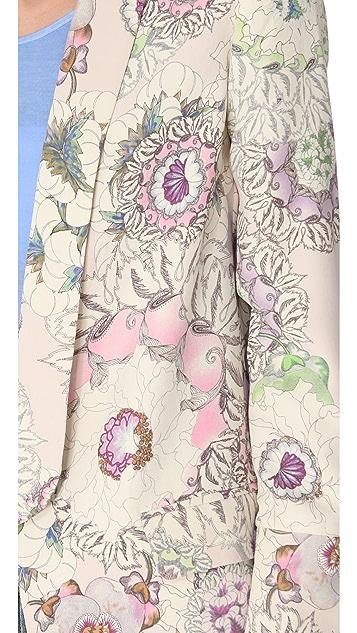 Pencey Floral Palm Blazer