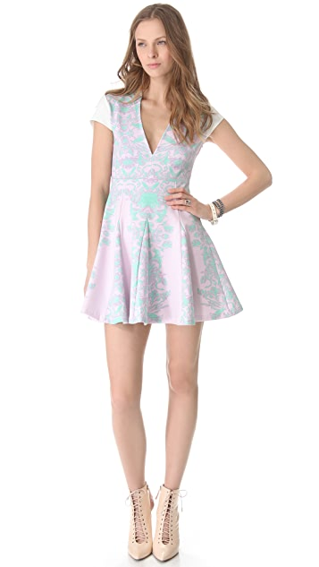 Pencey Reflected Floral Dress