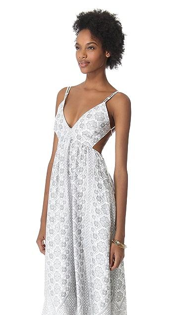 Pencey Long Printed Dress